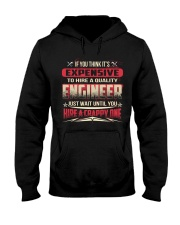 HIRE A QUALITY ENGINEER Hooded Sweatshirt thumbnail