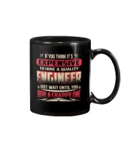 HIRE A QUALITY ENGINEER Mug tile