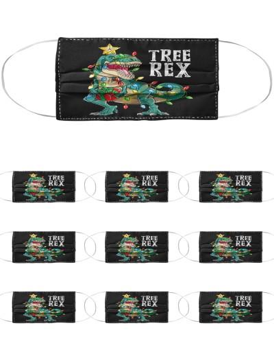 Christmas Dinosaur Tree Rex Pajamas