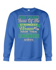 Proud to be The Wife Of ENGINEER Crewneck Sweatshirt front