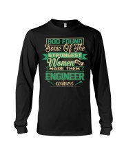 Proud to be The Wife Of ENGINEER Long Sleeve Tee thumbnail