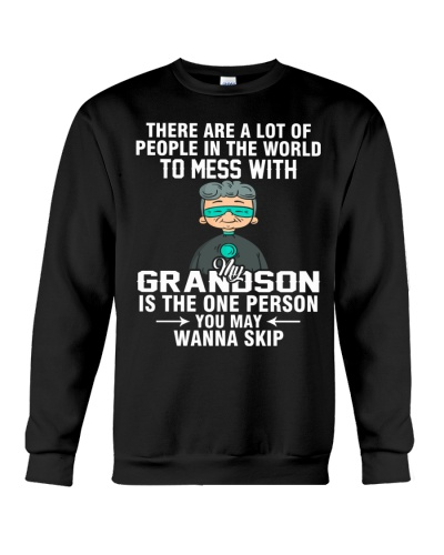 GRANDSON IS THE ONE PERSON YOU MAY WANNA SKIP