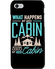 What Happens At The Cabin Stays At The Cabin Phone Case thumbnail