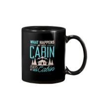 What Happens At The Cabin Stays At The Cabin Mug thumbnail