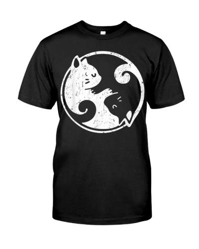 Yin Yang Cats Cute