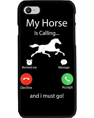y Horse Is Calling And I Must Go