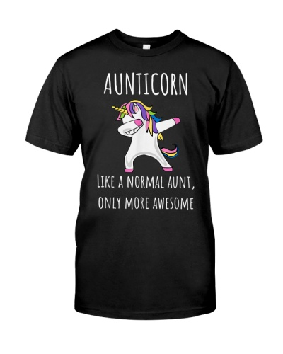 Aunticorn Like An Aunt Only Awesome Dabbing Unico