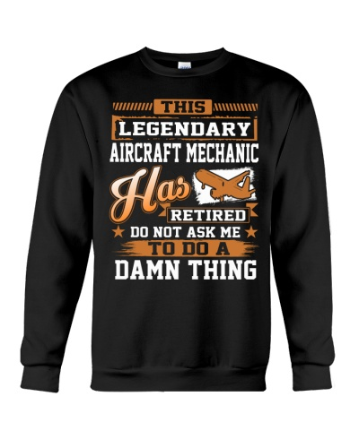 THIS LEGENDARY AIRCRAFT MECHANIC