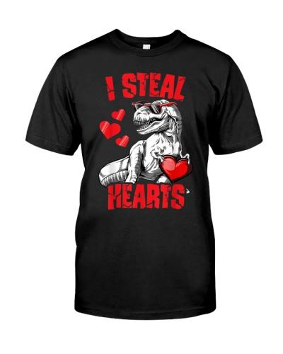Dinosaur T rex Lover I Steal Hearts