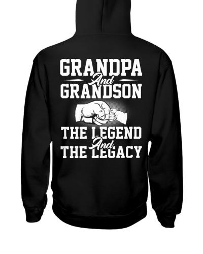 GRANDPA AND GRANDSON THE LEGEND