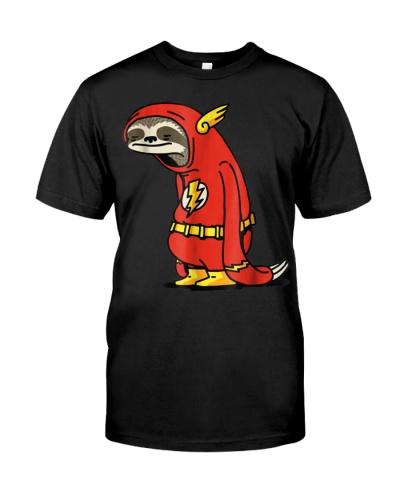 Funny Sloth Superhero