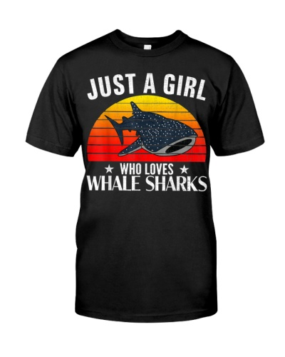 Just A Girl Who Loves Whale Sharks