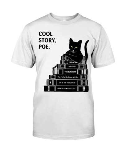 Poe Cat Short Story Edgar Allan Reading Book