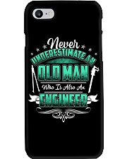 NEVER UNDERESTIMATE AN ENGINEER Phone Case tile
