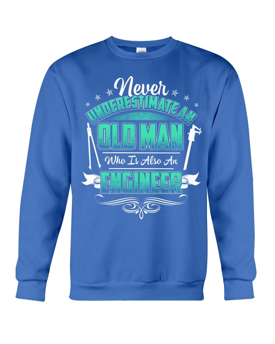 NEVER UNDERESTIMATE AN ENGINEER Crewneck Sweatshirt