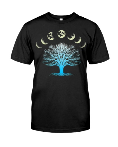 Tree Of Life Spiritual Shirt Moonphases