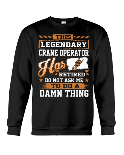 THIS LEGENDARY CRANE OPERATOR