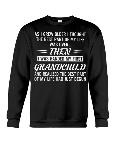 I WAS HANDED MY FIRST GRANDCHILD