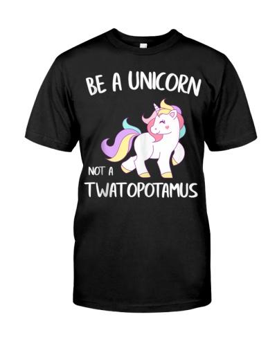 A Unicorn Not a Twatopotamus Funny