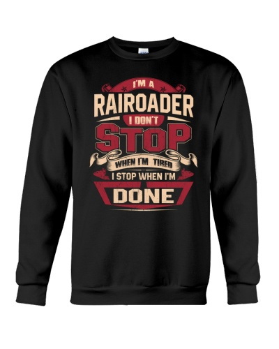 RAIROADER I DONT STOP WHEN I'M TIRED