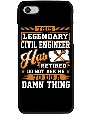 THIS LEGENDARY CIVIL ENGINEER Phone Case thumbnail