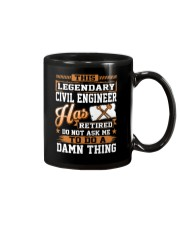 THIS LEGENDARY CIVIL ENGINEER Mug thumbnail