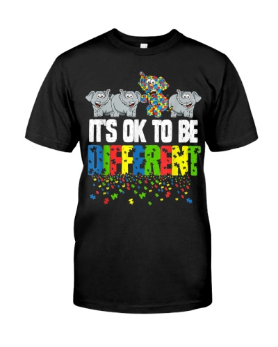 It's Ok To Be Different Autism Awareness