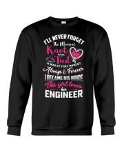 THIS GIRL LOVES HER ENGINEER Crewneck Sweatshirt thumbnail