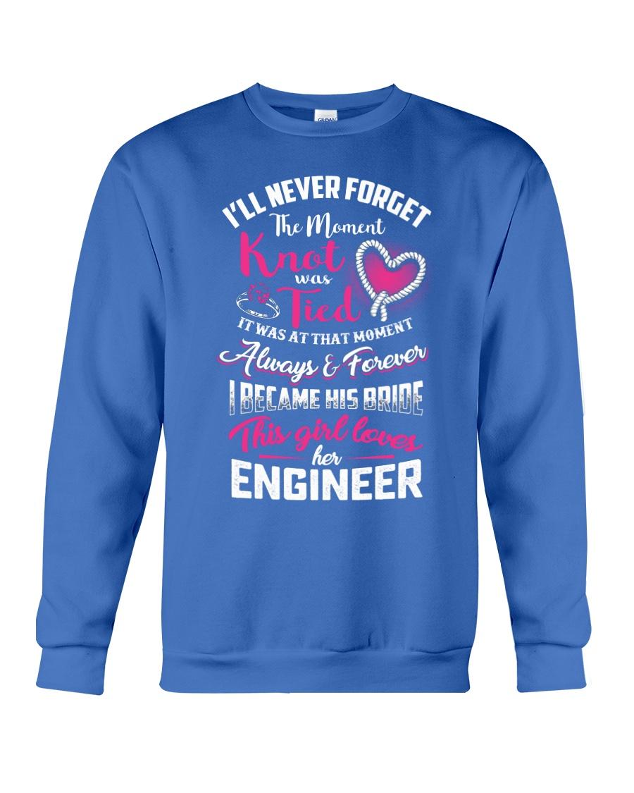 THIS GIRL LOVES HER ENGINEER Crewneck Sweatshirt