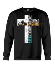 All I Need Today is Little Bit Camping Crewneck Sweatshirt thumbnail