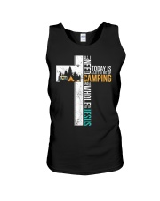 All I Need Today is Little Bit Camping Unisex Tank thumbnail