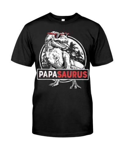 T rex Papa Saurus Dinosaur