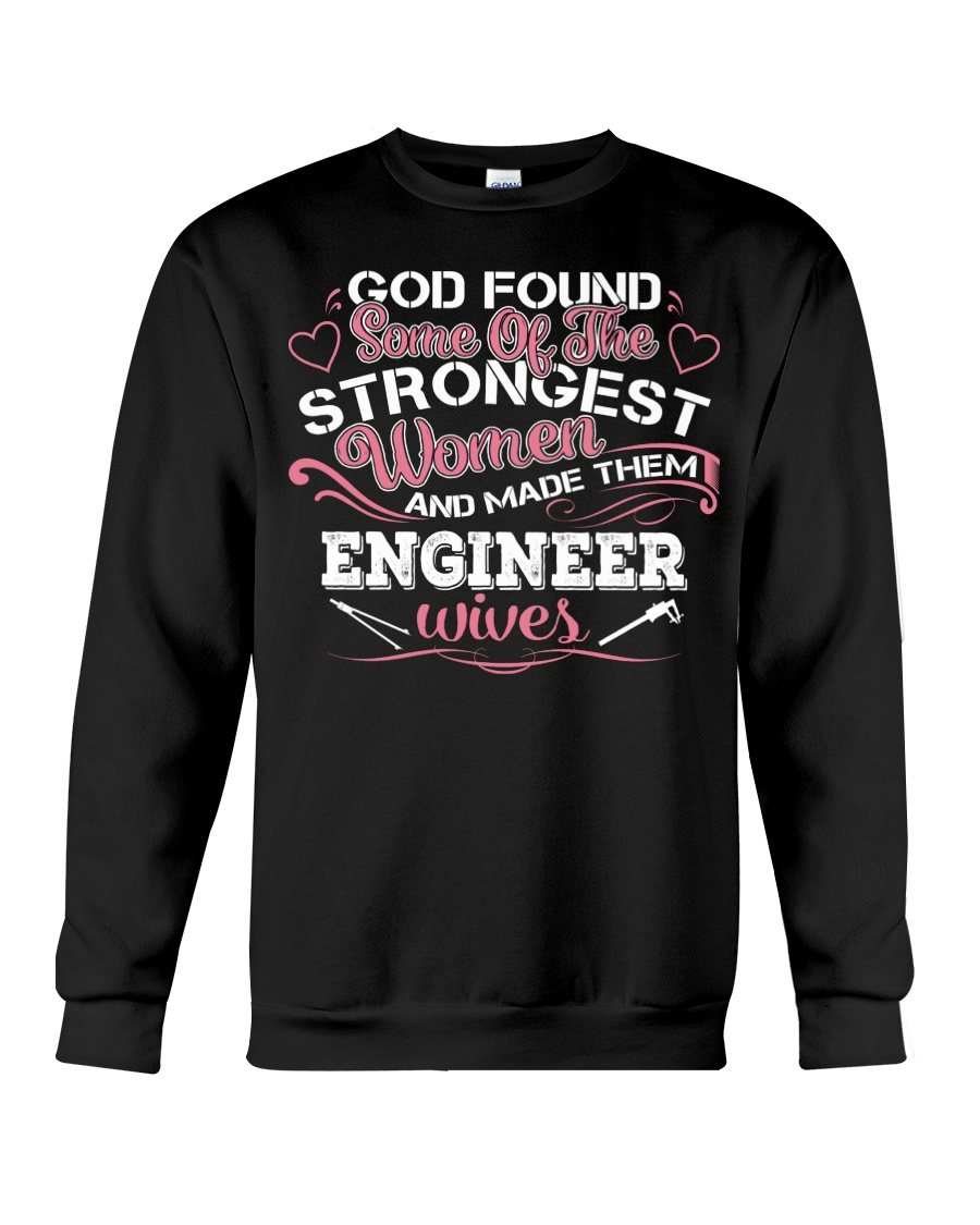 Proud to be The Wife Of A ENGINEER Crewneck Sweatshirt