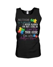 Autism Is A Journey Autism Awareness Mom Unisex Tank thumbnail