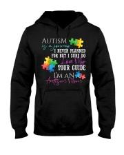 Autism Is A Journey Autism Awareness Mom Hooded Sweatshirt thumbnail
