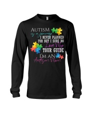 Autism Is A Journey Autism Awareness Mom Long Sleeve Tee thumbnail