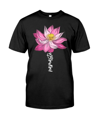 Namaste Lotus Flower Spiritual Yoga