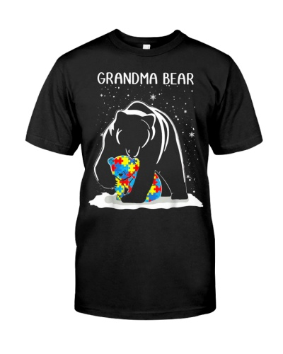 Grandma Bear Autism Awareness