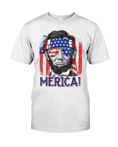 Lincoln 4th of July American Flag