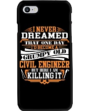 BECOME A GRUMPY OLD Civil Engineer Phone Case thumbnail