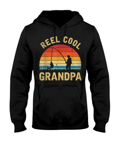 Vintage Reel Cool GRANDPA Fish