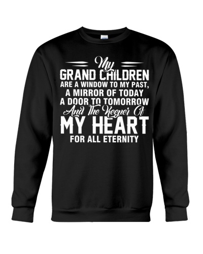 MY GRAND CHILDREN ARE A WINDOW TO MY PAST