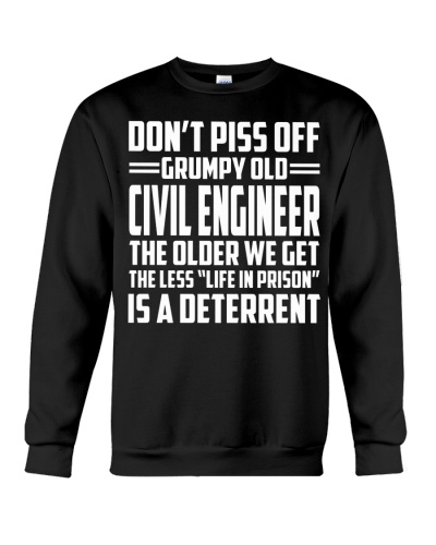 DONT PISS OFF GRUMPY OLD Civil Engineer