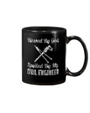 SPOILED BY MY Civil Engineer Mug thumbnail