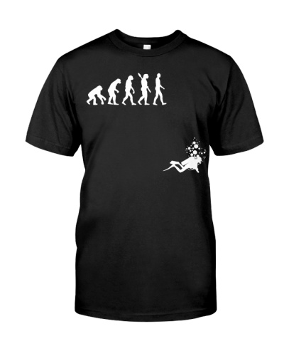 Evolution of Man Funny Scuba Diving