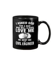 HE SENT ME A CIVIL ENGINEER Mug thumbnail