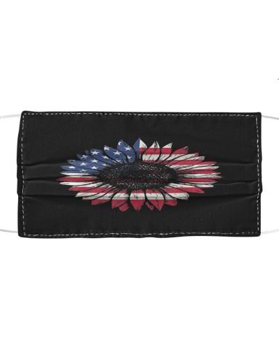 American Flag Sunflower Lover