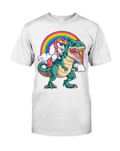 Unicorn Riding T rex