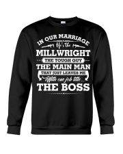 In Our Marriage MILLWRIGHT Crewneck Sweatshirt front