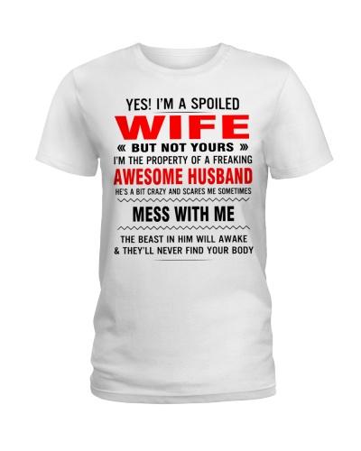 I AM A SPOILED WIFE